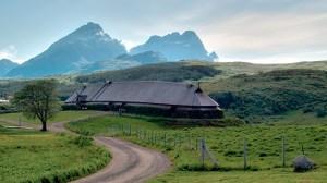 Lofotr Vikingmuseum, Lofoten, Noorwegen