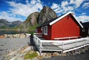 Rorbu Hamnoy Lofoten Noorwegen