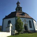Kerkje van Sør-Fron tijdens de wandelreis