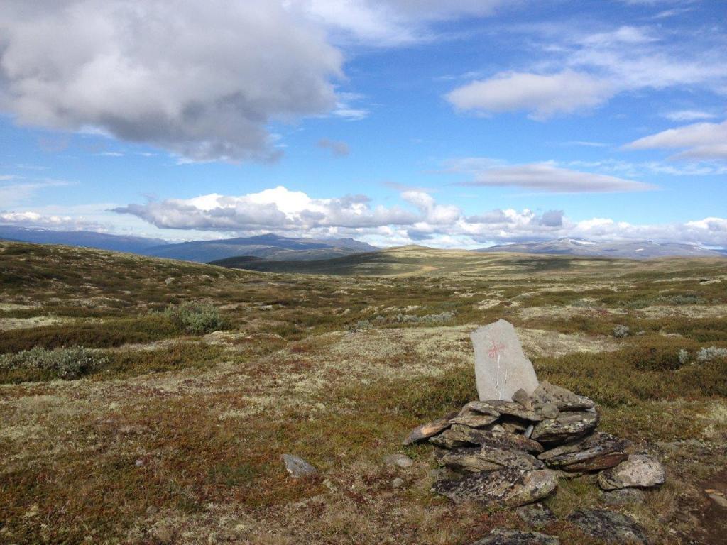Dovrefjell, pelgrim, Olavspad, Noorwegen, Fru Amundsen