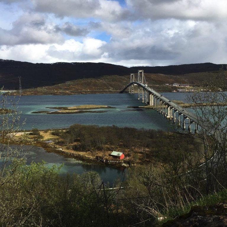 Noorderlichtreis Lofoten en Vesterålen Tjeldsundbrug, Noorwegen