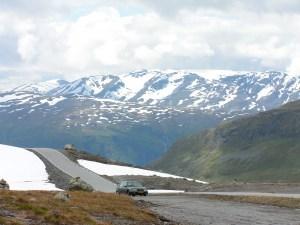 Snøveien, Noorwegen