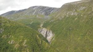 uitzicht bij Tingsvaet, pelgrim