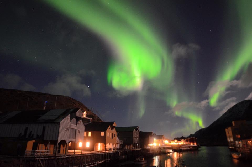noorderlicht vakantie Noorwegen Vesterålen Nyksund Foto: Fru Amundsen ©