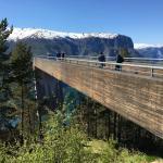 Uitzicht Stegastein Sognefjord
