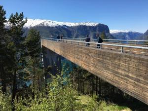 Uitzicht Stegastein Auerlandsfjorden