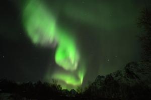 Noorderlichtreis Lofoten Austnesfjorden, Lofoten, Noorwegen