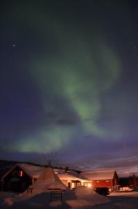 Noorderlicht Gargia Fjellstue Foto: Fru Amundsen ©