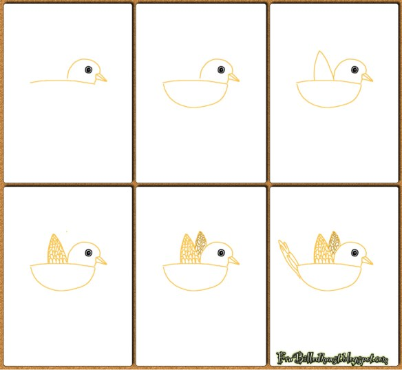 FruBilledkunst - Første fugl 2
