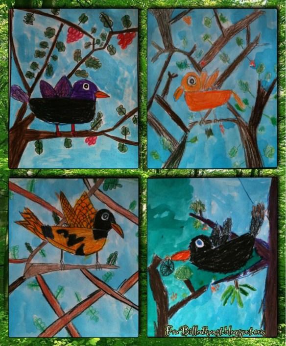 FruBilledkunst - Første fugle (2)