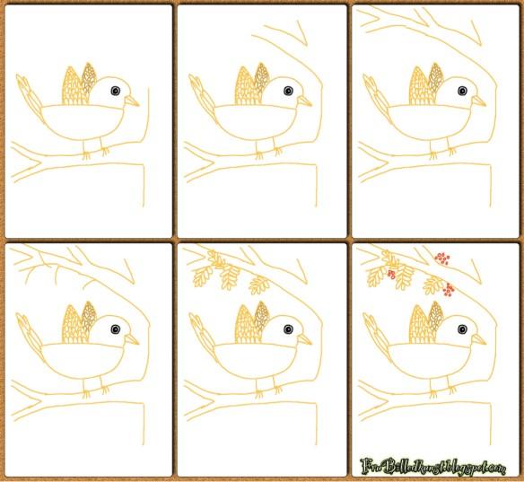 FruBilledkunst - Første fugle 4