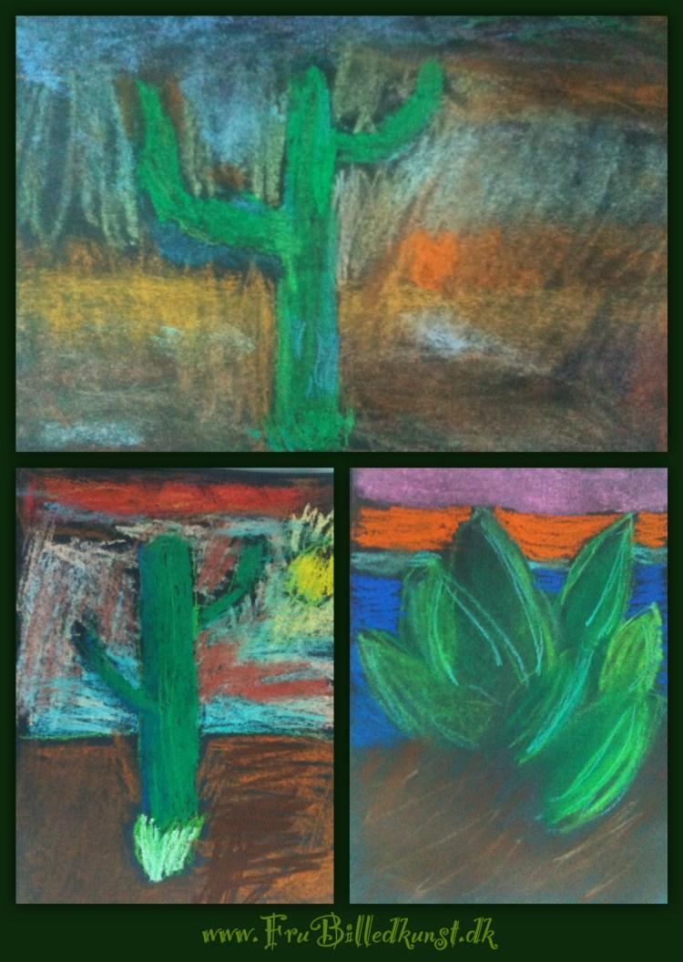 Pastel kaktus 3
