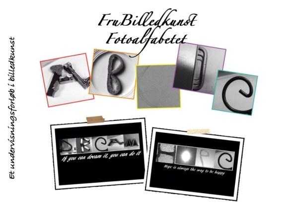 Fotoalfabetet - forside