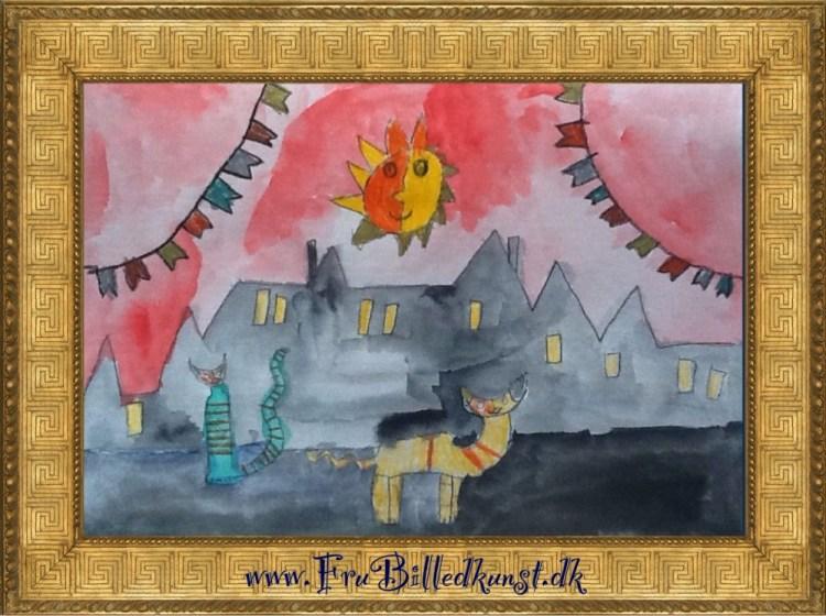 Katte - Wachtmeister style - FruBilledkunst (4)