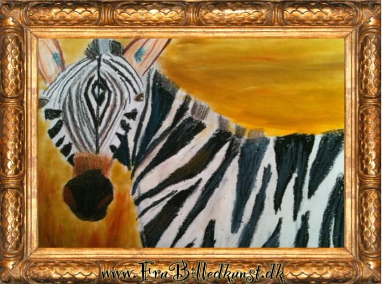 FruBilledkunst zebra SSK