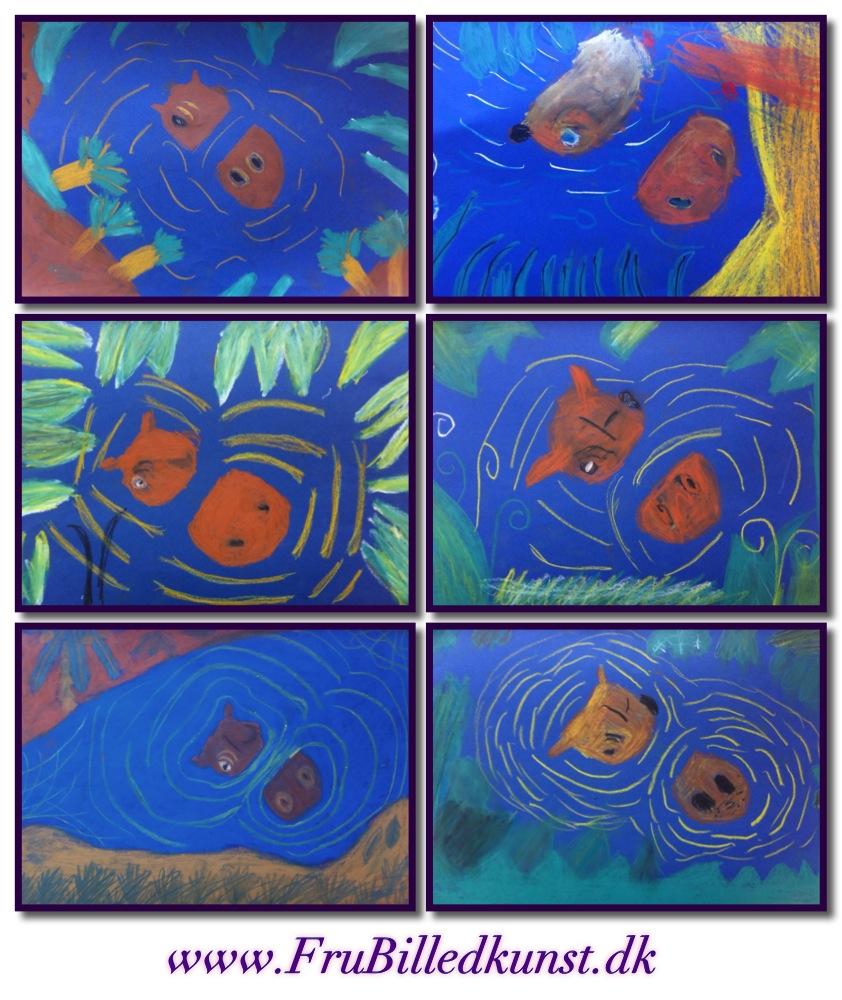 FruBilledkunst Hippo Art 2nd grade (21)