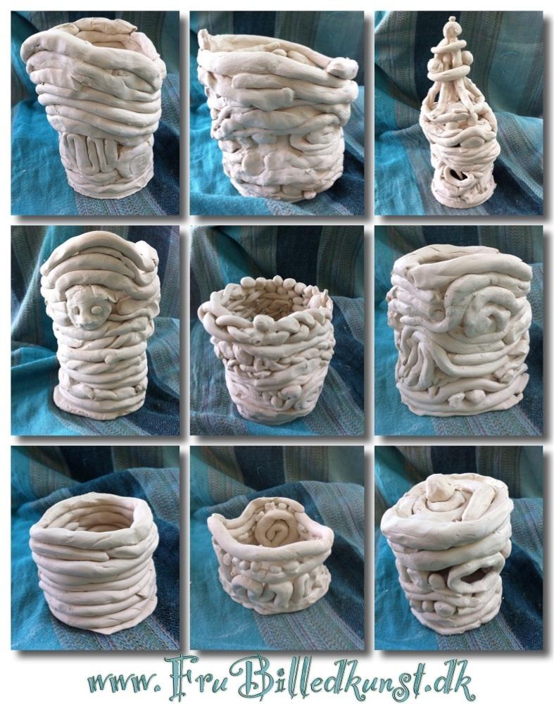 FruBilledkunst crazy coil pot