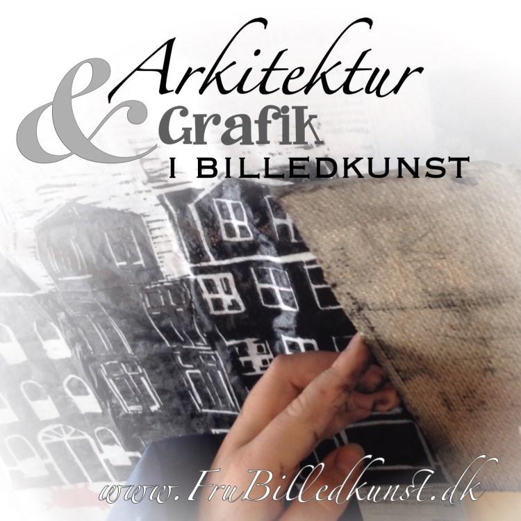 arkitektur og grafik på www.FruBilledkunst.dk