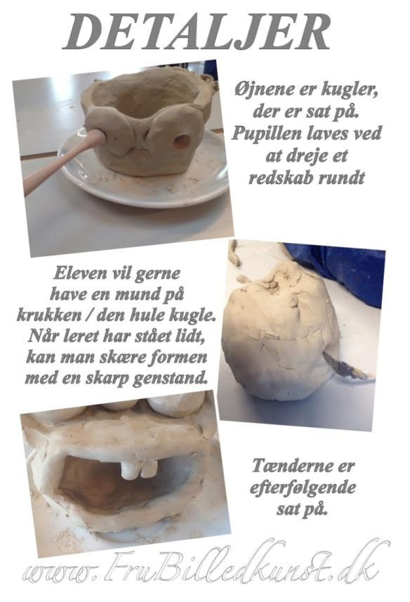 lermonstre - detaljer - www.FruBilledkunst.dk
