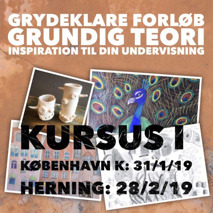 FruBilledkunstkursus - for første gang i København og Herning