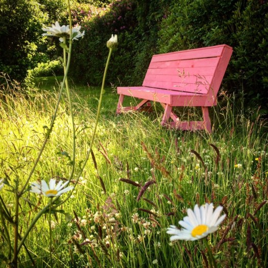 Upcycling pallets into benches