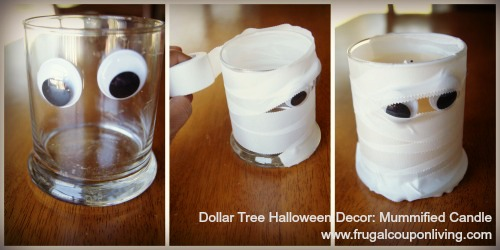 Dollar Tree Fall Decor Decorate With Autumn Candles On A Frugal Budget
