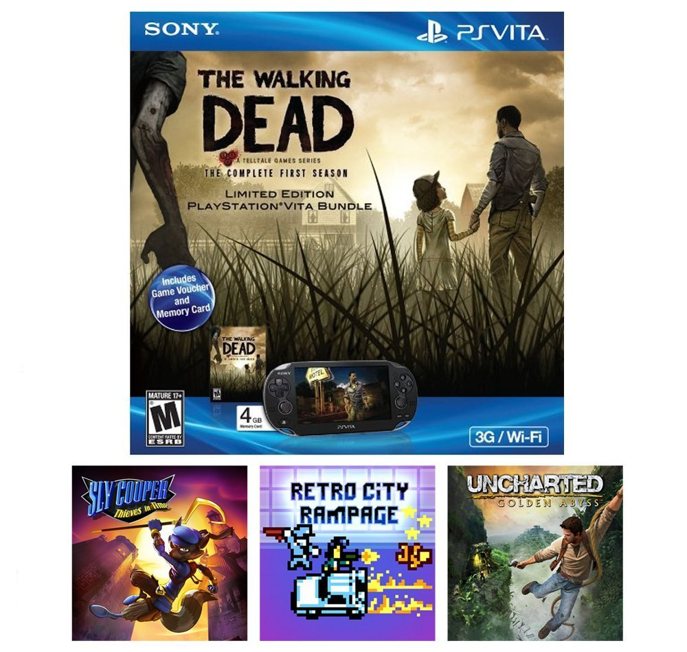 Playstation Vita Walking Dead Bundle Only 17499 Shipped