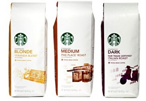 Starbucks Bagged Coffee Only 399