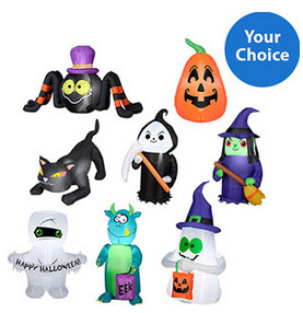 Small Halloween Airblown Inflatable Value Bundle For 20