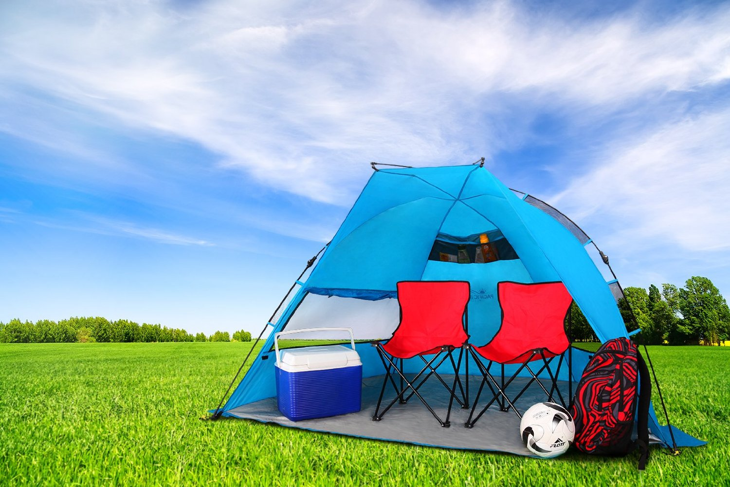 Pacific Breeze EasyUp Beach Tent Only 5999 Shipped Reg
