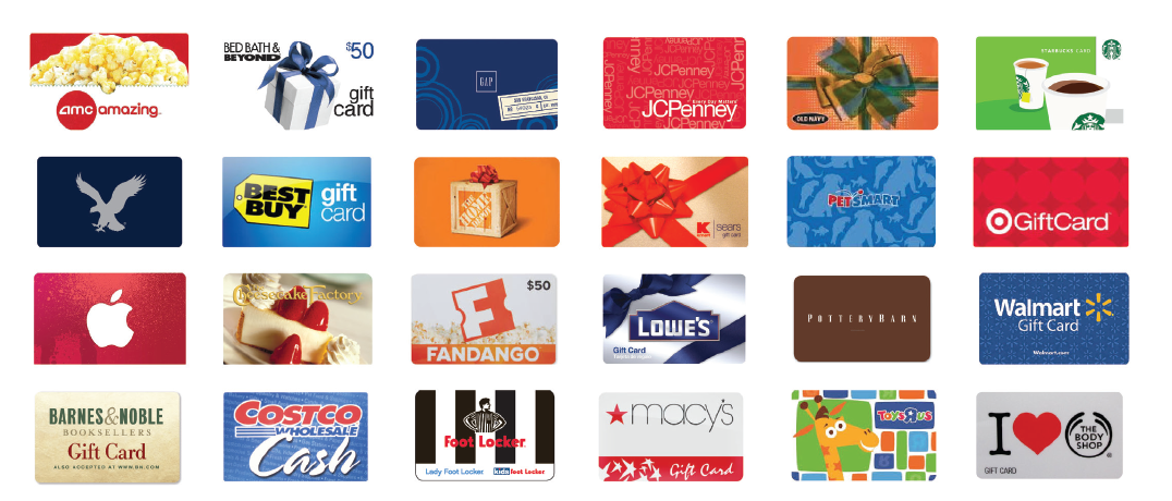 HOT 15 Off Already Reduced Gift Cards