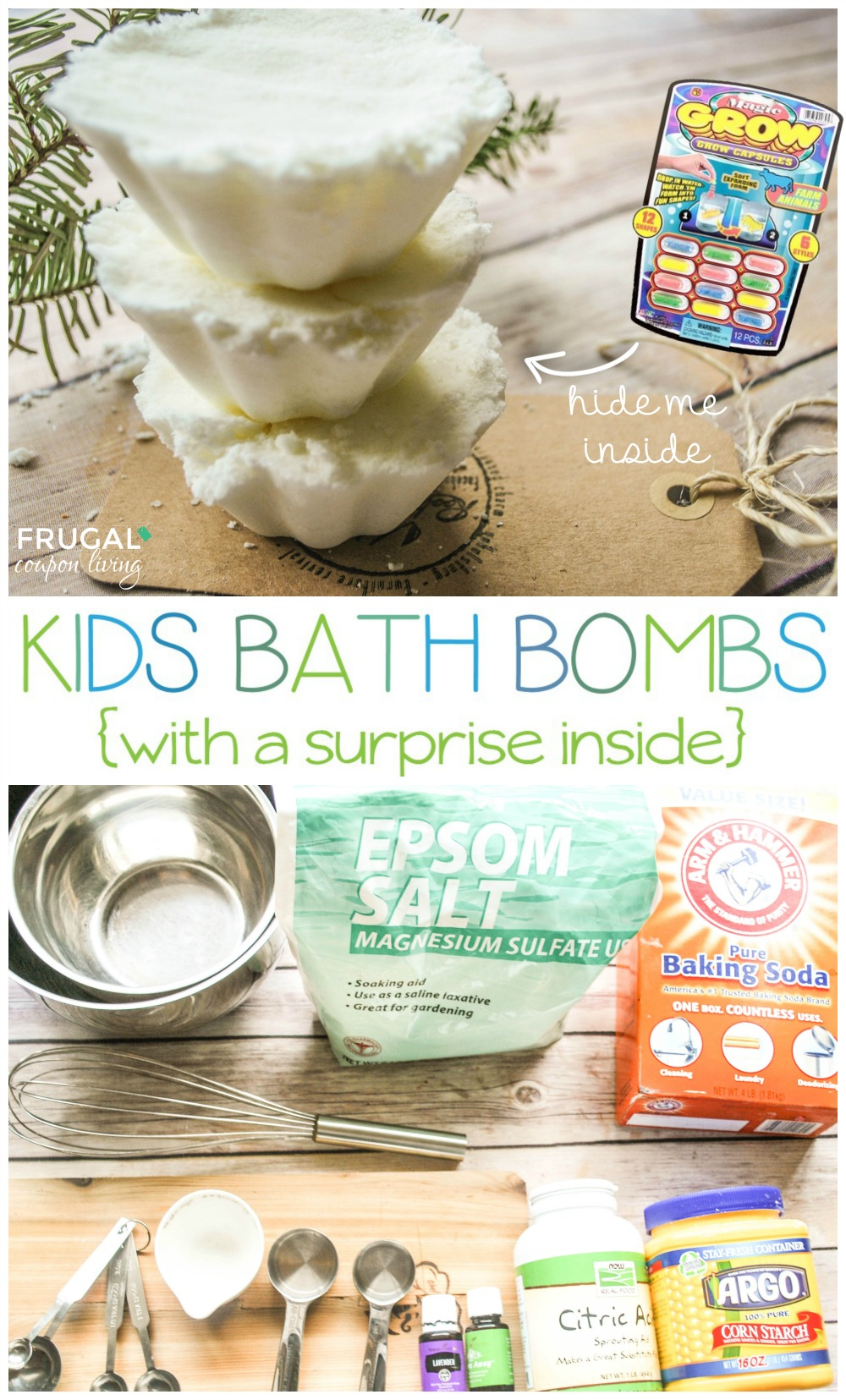 Homemade Kids Bath Bombs You Choose The Scent