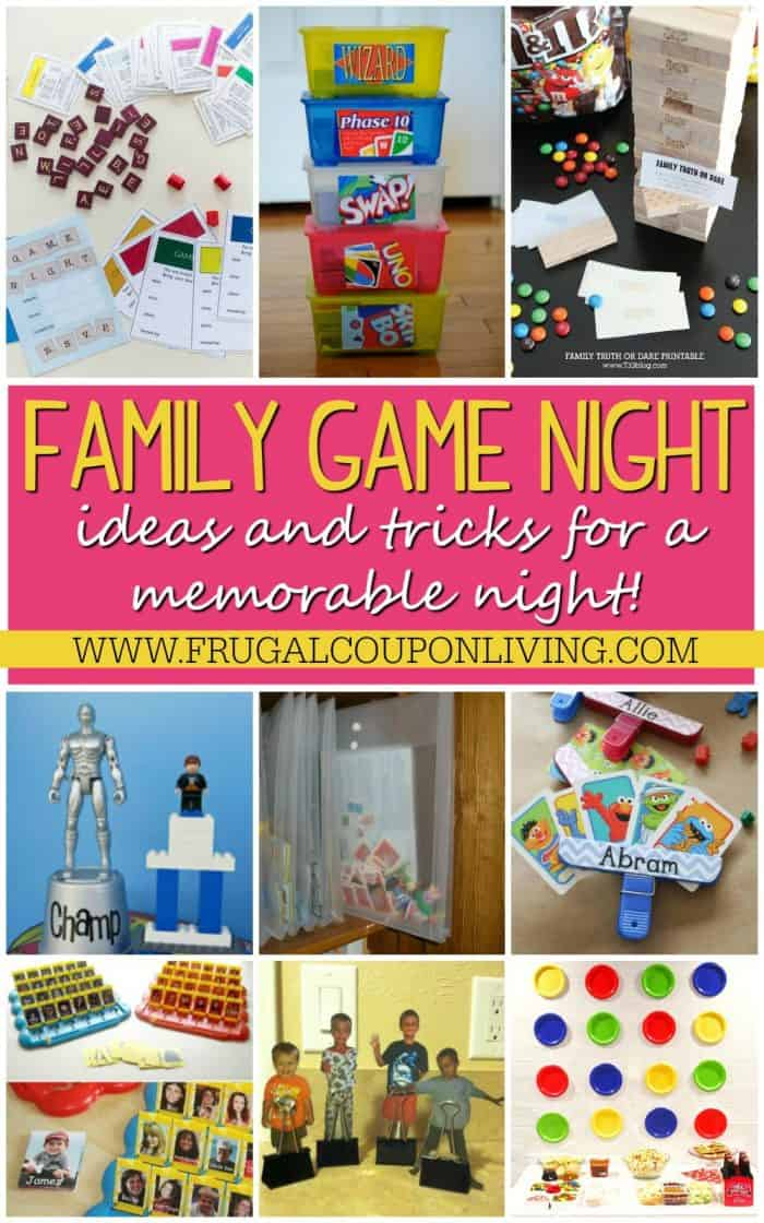 Memorable Family Game Night Ideas And Tricks