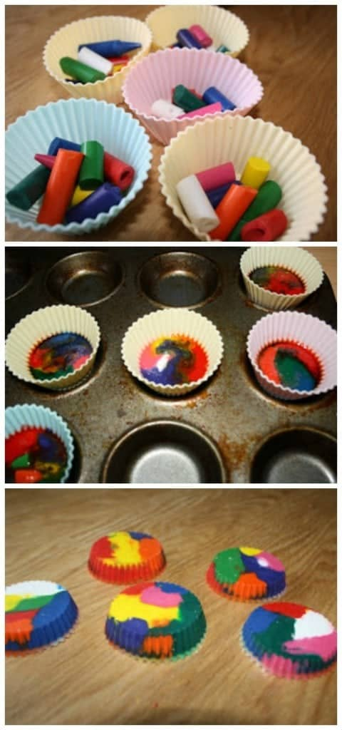 Recycle your crayons