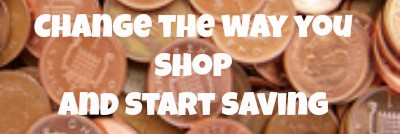 Change the way you shop – savings at the supermarket….