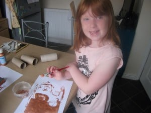 Quick Craft – Make an Olympic Trophy….