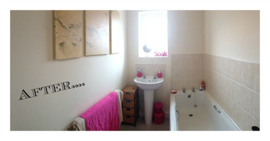 Bathroom Makeovers On A Budget Uk budget bathroom makeover. - the diary of a frugal family
