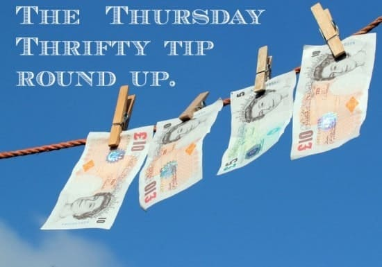 thrifty thursday tip round up