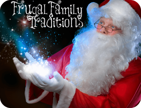 frugal family traditions