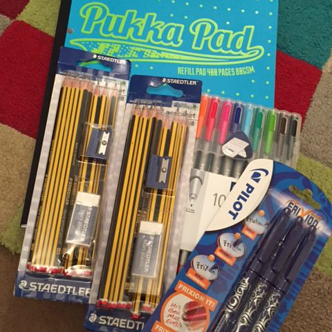 Back to school stationery bargains