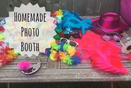homemade photo booth 1