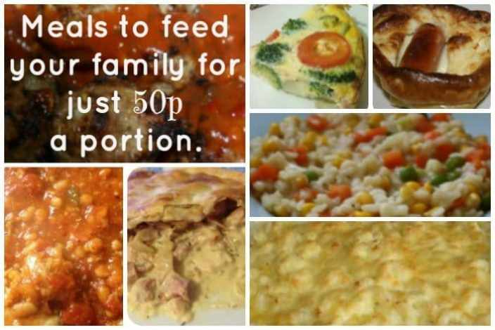 Feed your family for 50p a portion