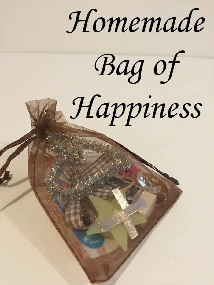 an amazing homemade gift happiness in a bag with a free printable