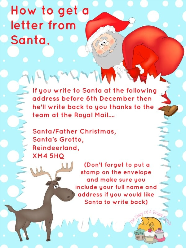 Free printables letter to santa templates and how to get a reply how to get a letter from santa spiritdancerdesigns Images