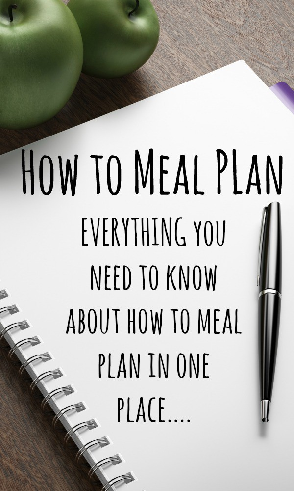 How to meal plan - EVERYTHING you need to know about how to meal plan in one place....