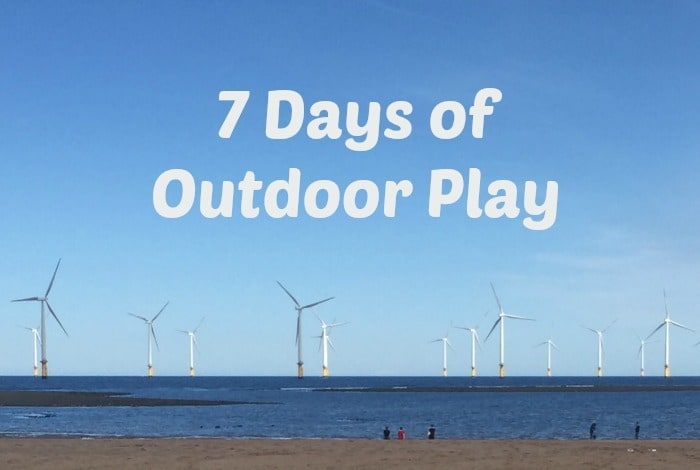 7 Days of Outdoor Play