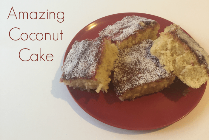 Amazing Coconut Cake….