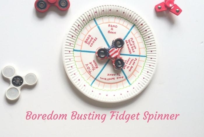 Fidget Spinner Boredom Buster….