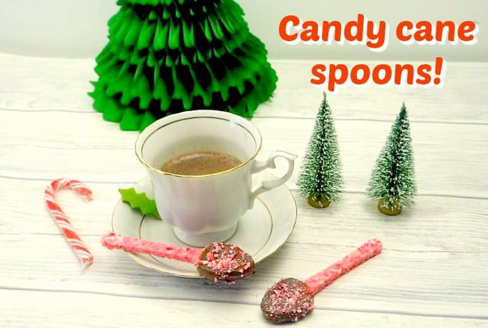 Candy Cane Spoons….