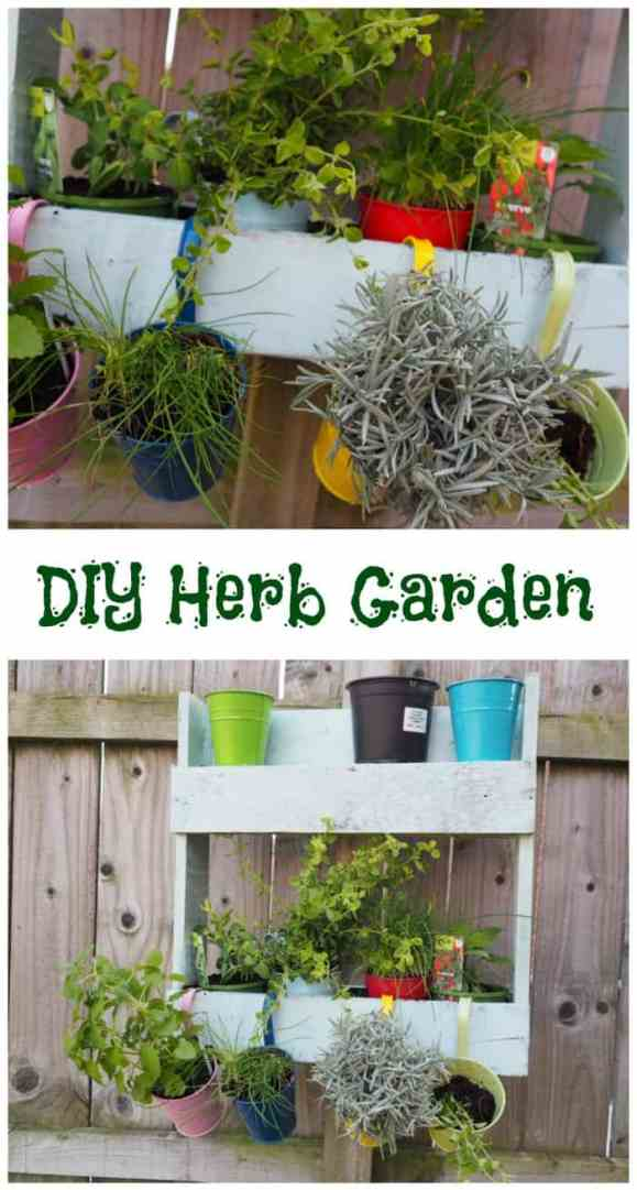 DIY Herb Garden #eatwhatyougrow